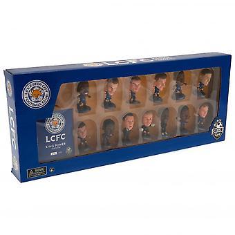 Leicester City FC SoccerStarz Joukkue Jalkapallo Figurine Set (Pakkaus 13)