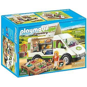 J! Playmobil Country Mobile Farm Market