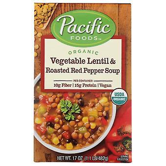 Pacific Foods Soup Rte Vgtb Lentil Rstd, Case of 12 X 17 Oz