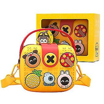 Borse disney per bambini, borse a tracolla, borse messenger (giallo)
