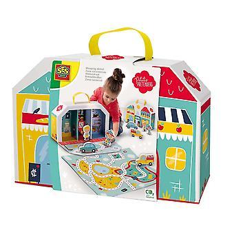 Petits Pretenders Kinderwinkelgebied Speelkoffer en Speelmat