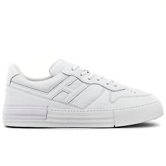 Sneakers för män Hogan Rebel Vitt Mjukt Läder