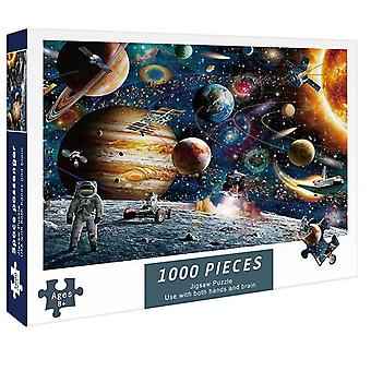 Jigsaw Paper Puzzles 1000 Pieces Intellectual Decompressing DIY Game Toys
