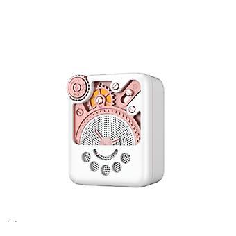 Remax RB-M53 AI Smart Voice Bluetooth Loudspeaker Portable Mini Radio Speaker White