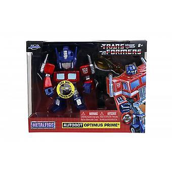 Transformateurs Autobot Optimus Prime 4,5 pouces Métal Figure Jada 31398
