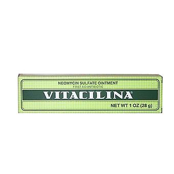 Vitacilina First-Aid Antibiotico Neomycin Sulfate Ointment, 1 Oz.