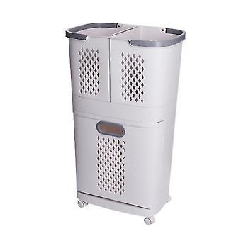 Estante de inodoro de artefactos de almacenamiento de cesta de lavandería para el hogar