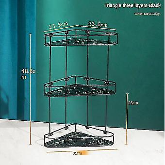 Bathroom accessory sets bathroom shelves light luxury storage holder standing type home accessories for living room kitchen