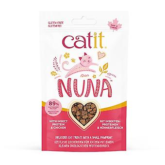 Catit Nuna Snack Insect Protein Snack Mix and Chicken (Cats , Treats , Biscuits)