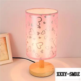 Iwp Brand tulostaa pieni pöytävalaisin led yölamppu luova kosketus kytkin säätö lamppu makuuhuone sisustus syntymäpäivä lahja