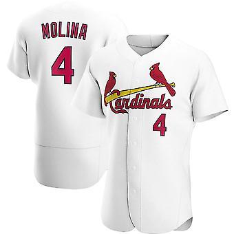 Mens Baseball Jersey Short Sleeve #4 Yadier Molina Cardinals Player Jerseys 90s Hip Hop Game Fans Sports Baseball Uniforms Size S-3xl