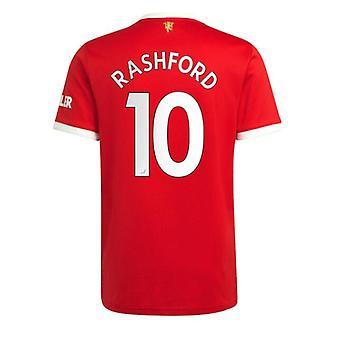 Мужская #10 Рэшфорд Футбол Джерси Новый сезон Мнчестер 2021-2022 Юнайтед Футбол Джерси Футболки Размер S-xxl