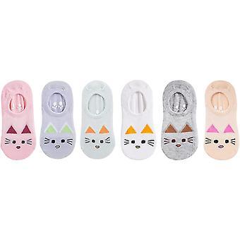 Bavlnené ponožky s nízkym strihom pre dievčatko