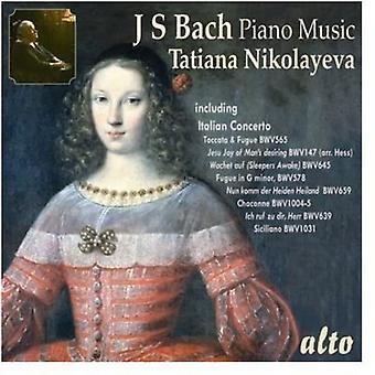 Tatiana Nikolayeva - J.S. Bach: Importación de los E.e.u.u. música de Piano [CD]