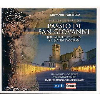 G. Paisiello - Giovanni Paisiello: Passio Di San Giovanni [CD] USA import