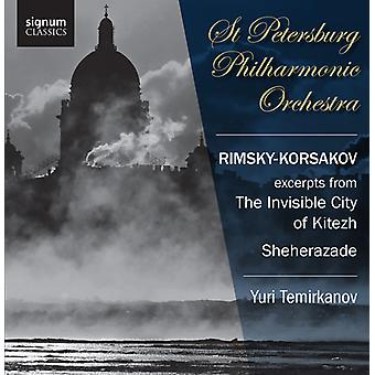 N. Rimsky-Korsakov - Rimsky-Korsakov: Excerpts From the Invisible City of Kitezh; Sheherazade [CD] USA import