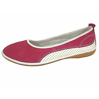 Ladies Coolers Summer Fruit Range Leather Ballet Pump Shoes