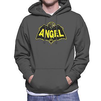 Angel Of Death Hellboy Men's Hooded Sweatshirt