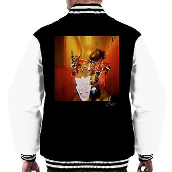 George Clinton And Parliament Funkadelic Devil Horns Men's Varsity Jacket