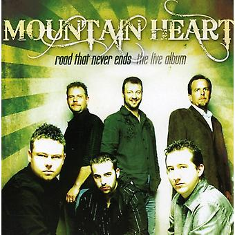 Mountain Heart - Road That Never Ends: The Live Album [CD] USA import