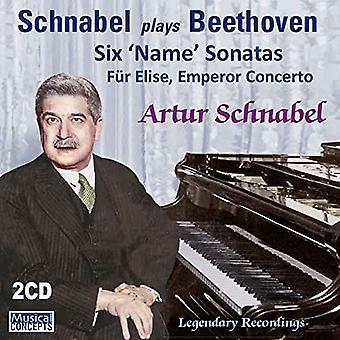 Artur Schnabel, Chicago Symphony Orchest - Beethoven: 6 importer des USA nom sonates Fur Elise Em [CD]
