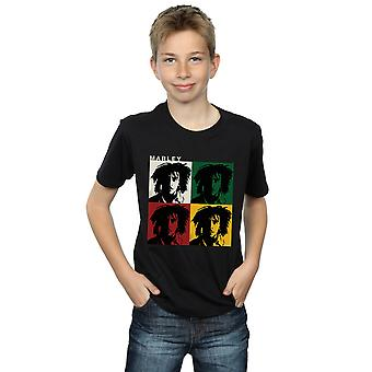 Bob Marley Boys Colour Blocks T-Shirt