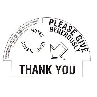 10 plomby zabezpieczające / etykiety dla miłości pieniądze zbiornikow