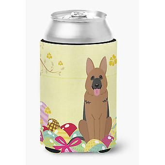 Carolines Treasures  BB6067CC Easter Eggs German Shepherd Can or Bottle Hugger
