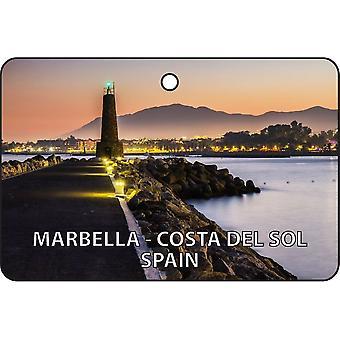 Marbella - Costa Del Sol - Hiszpania samochodowa zawieszka zapachowa
