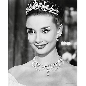 Audrey Hepburn Roman Holiday Poster Poster Print