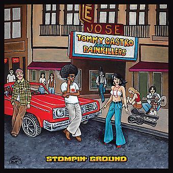 Tommy Castro y analgésicos - importación de Estados Unidos tierra Stompin [vinilo]
