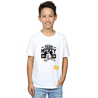 Disney Boys Mickey Mouse Team Mickey T-Shirt
