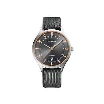 Bering mens watch titanium collectie 11739-879