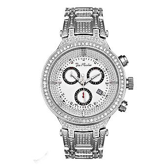 Joe Rodeo diamond men's watch - MASTER silver 7.35 ctw