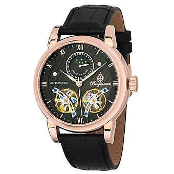 Burgmeister BM238-322 Thronton, Gents automatic watch, Analogue display - Water resistant, Stylish leather strap, Classic men's watch