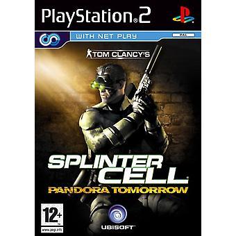 Splinter Cell Pandora I morgon (PS2) - Ny fabrik förseglad