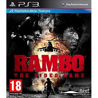 Rambo Videopeli (PS3) - Uusi