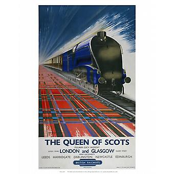 Queen of Scots - London and Glasgow British.. - Art Print