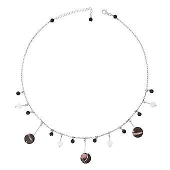 Orphelia Silver 925 halsband 43Cm med Colered stenar ZK-2588