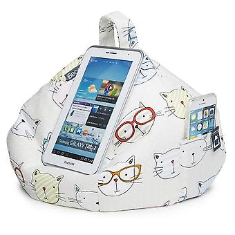 Ipad, tablet & ereader bean bag stand by ibeani - cool cats