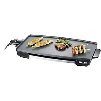 Severin KG 2397 Table Electric grill with manual temperature settings Stainless steel (brushed), Black