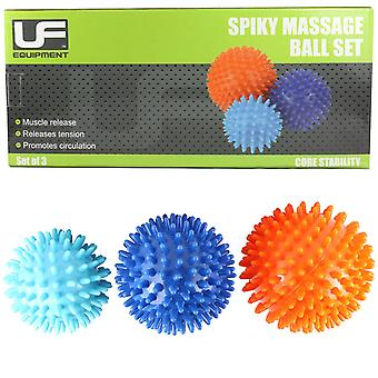UFE Spiky Massage Ball 3 Pack