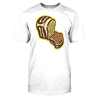 Echte Kinder backen Brot - lustige Kinder T Shirt