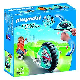 Playmobil 9204 azione all'aperto blu rullo Racer
