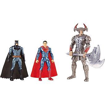 Justice League modellini FGG57 Batman Superman Steppenwolf 3-Pack