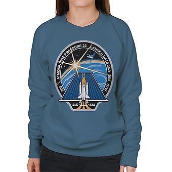 NASA STS 115 Space Shuttle Atlantis misión parche sudadera mujer
