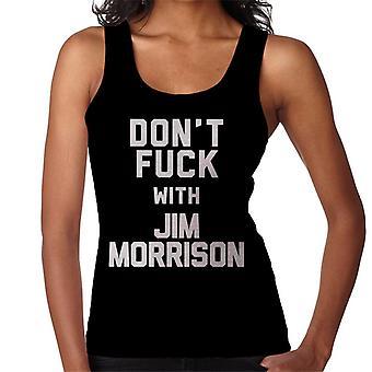Nie kurwa z kamizelka damska Jim Morrison