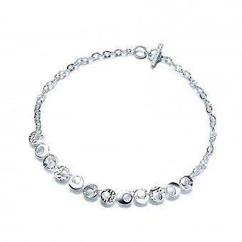 Cavendish French Sterling Silver Lunar Necklace