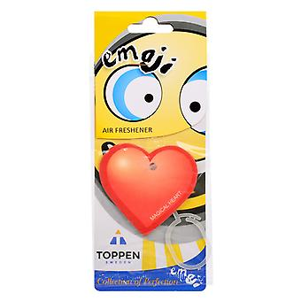 Fragrance gran for the car air Freshener Emoticon Magical Heart