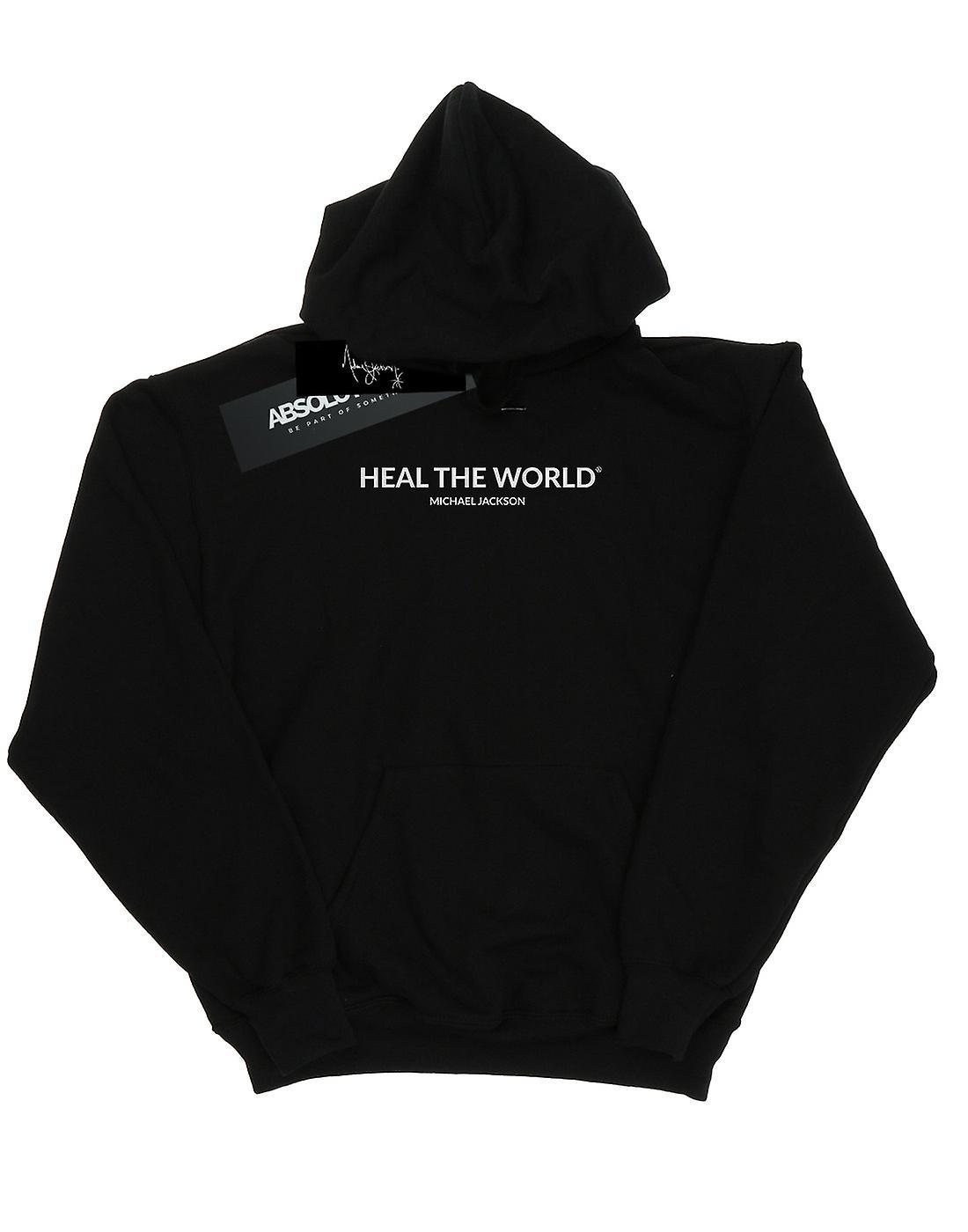 Michael Jackson Men's Heal The World Hoodie